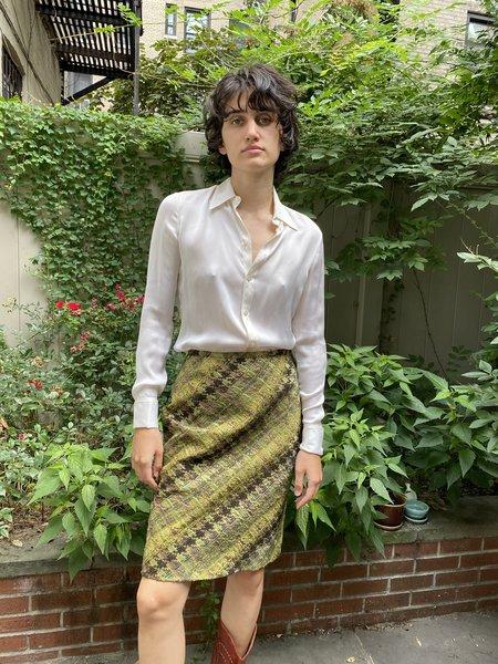Vintage Koos Van Der Akker Wool Skirt