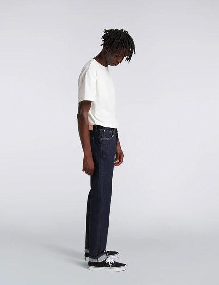 Edwin Regular Tapered Jeans in Nihon Menpu Denim - Blue