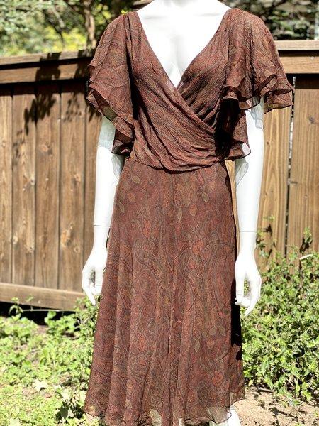 [pre-loved] Ralph Lauren Luca Ryann Silk Dress