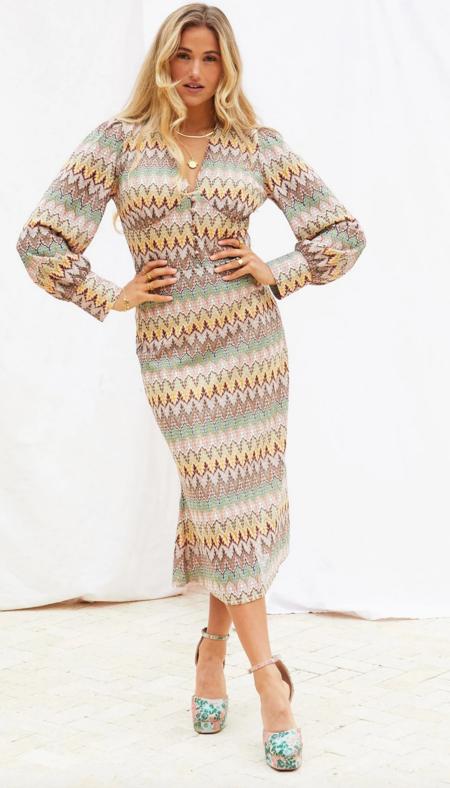LADYBIRD Aztec Skirt - Multi