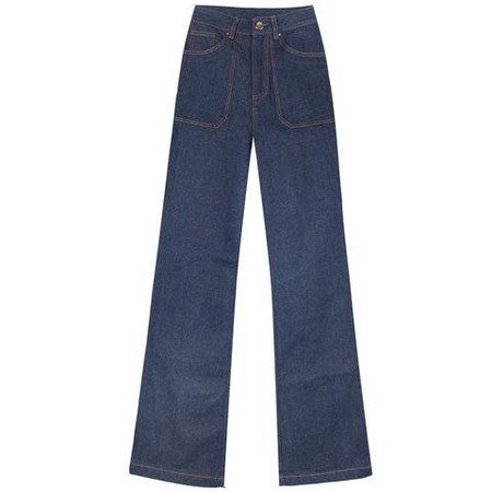 LF Markey High Waist Flares - BLUE