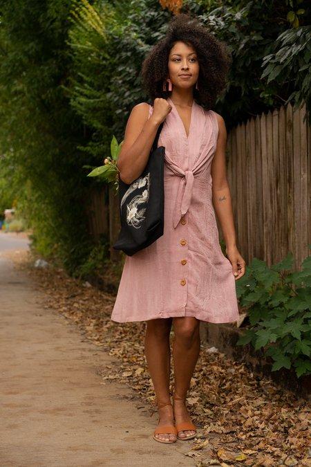 Field Day Paloma Dress - Pink Dot