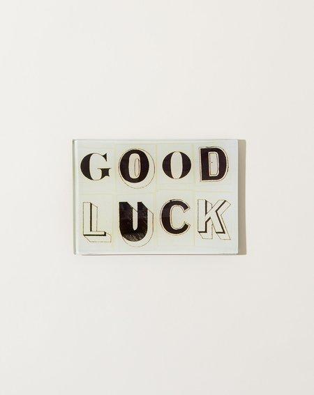 John Derian Good Luck Tiny Tray