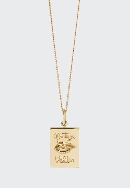 Meadowlark Protéger Necklace - gold