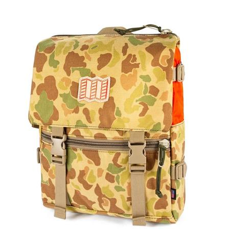 Topo Designs X Nanga Rover Shoulder Bag - CAMO / OLIVE
