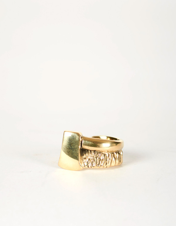 Jon Swinamer Axe Ring Bronze