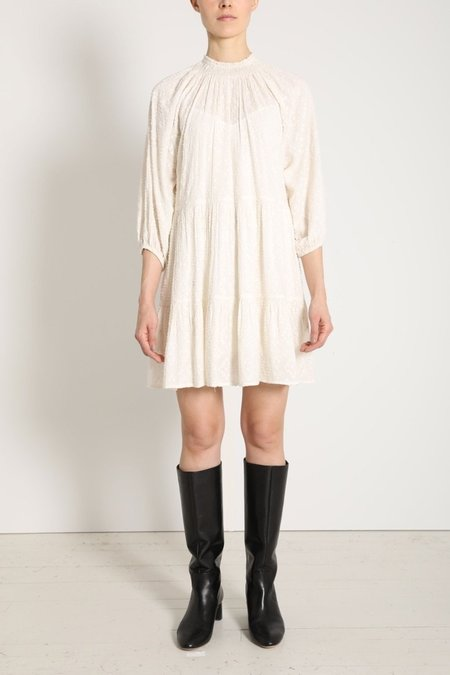 Apiece Apart Dubrovnik Mini Dress - Cream