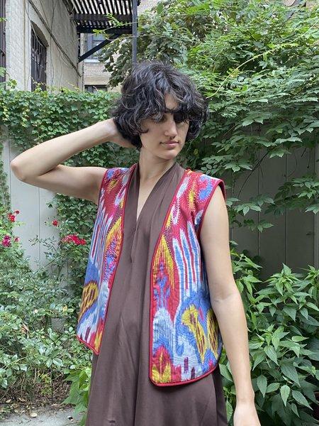 Alix of Bohemia Ikat Vest