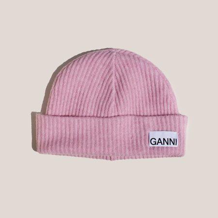 Ganni Beanie - Sweet Lilac