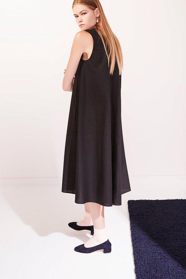Kowtow REVERSIBLE DRESS - BLACK