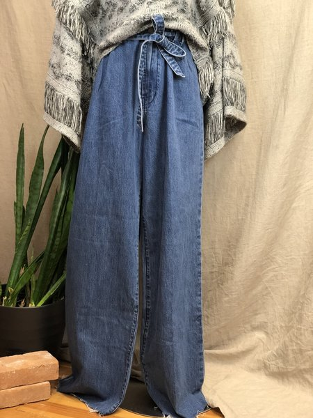 [Pre-loved] J Brand Paperbag Medium Waist Jeans