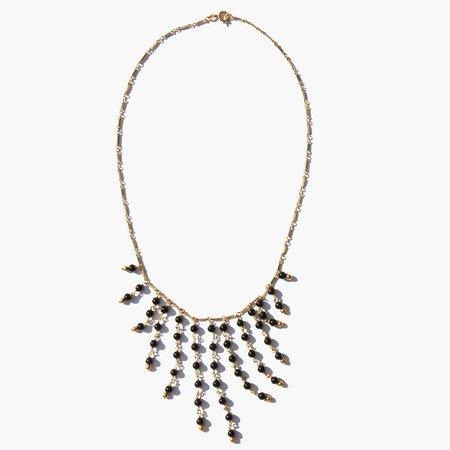Kindred Black Antu Drape Necklace - 14k Gold