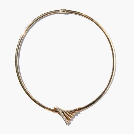 Kindred Black Berwick Collar - 14k Gold