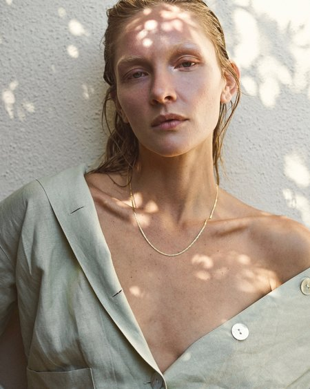 Mountainside Made Fortuna Necklace - 18k gold fill