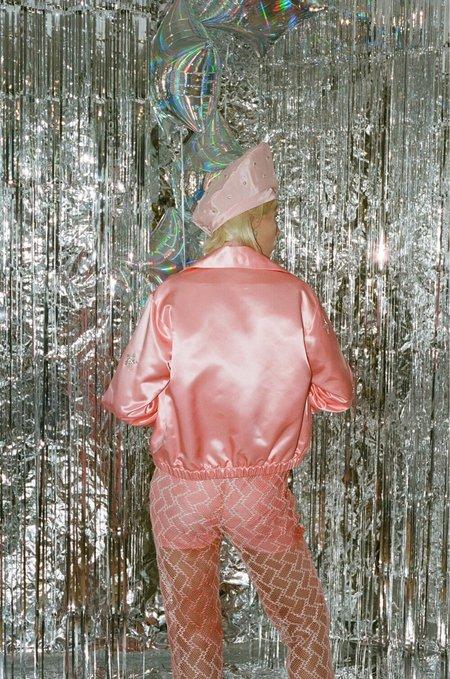 Michons Marigot SHEER JOGGERS - Pink