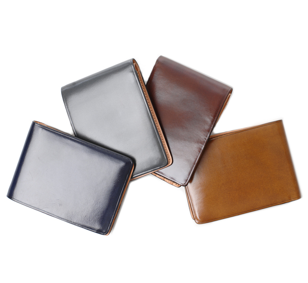 Il Bussetto Grey Bi Fold Wallet