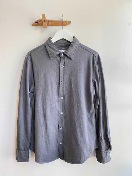 Save Khaki Long Sleeve Heather Easy Shirt - Iron