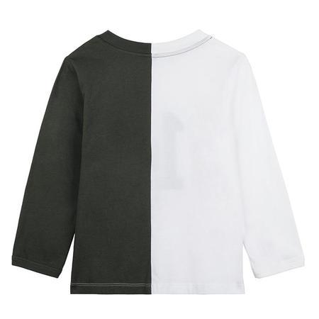 Kids Stella McCartney T-shirt With Varsity Patch - White