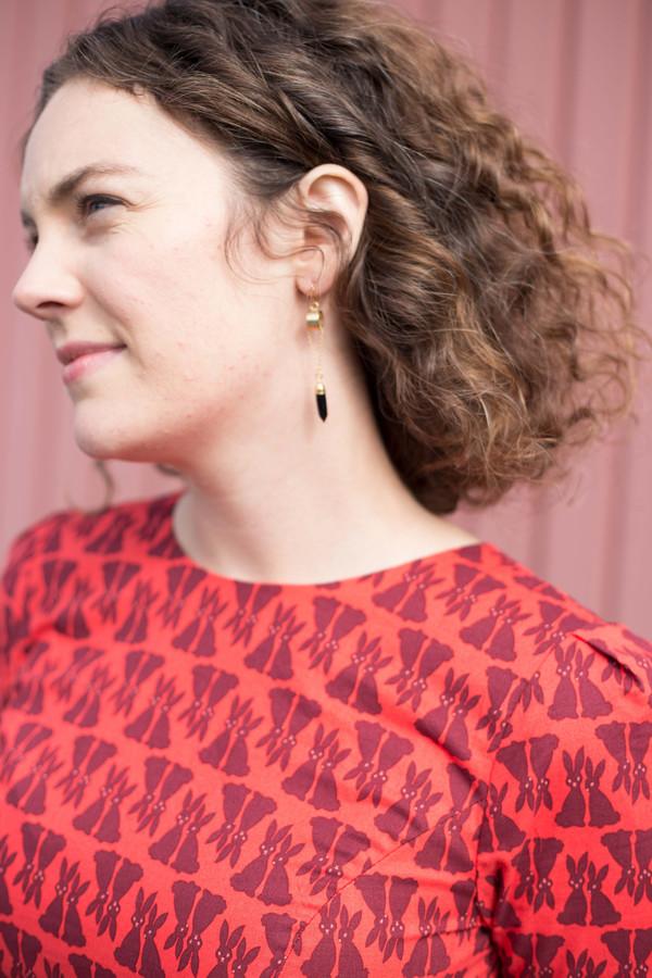 Sarah Mulder Curfew earrings