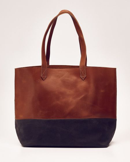 Nisolo Lori Color Block Tote