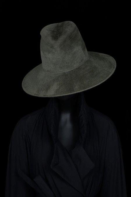 Esenshel Split Wide Curved Brim Hat