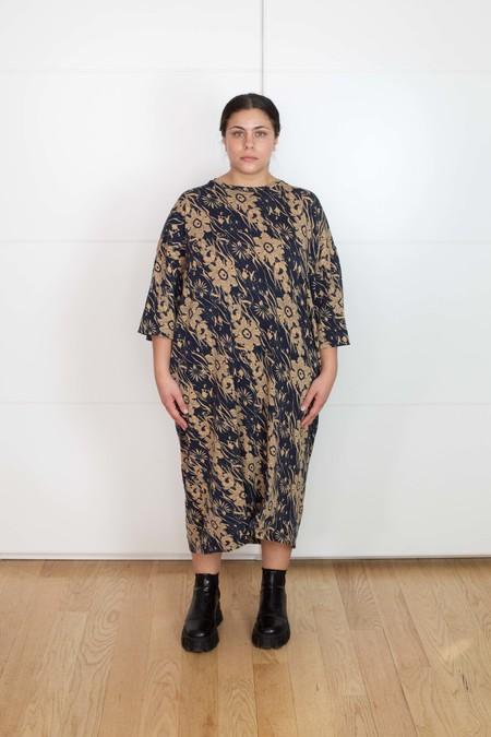 Vincetta Tee Dress 70s Floral