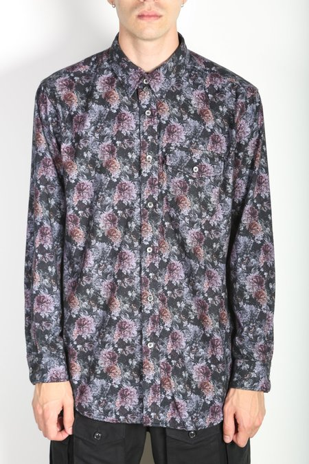 Engineered Garments Tab Collar Shirt - Floral