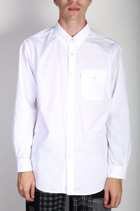 Engineered Garments Tab Collar Shirt - White