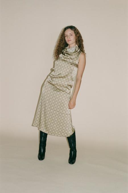 Baserange Ozum Dress - Checked