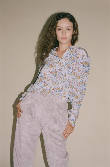 No.6 Luke Shirt - Lilac Bouquet
