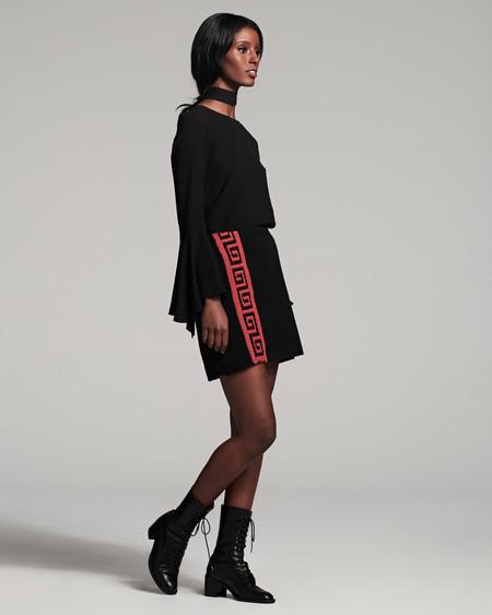 VOZ Apparel Abrazos Mini Skirt - black