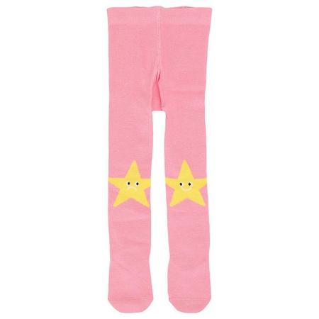 Kids Stella McCartney Baby With Star Pattern Tights - Pink