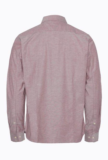 Knowledge Cotton ELDER Small Owl Oxford Shirt - Codovan