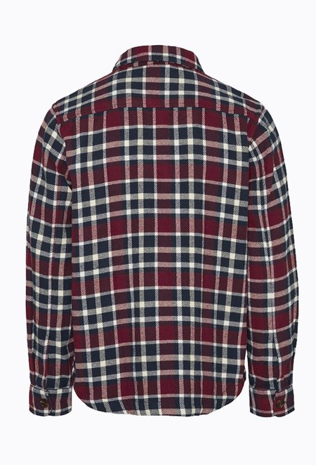 Knowledge Cotton PINE Checked Overshirt - Codovan