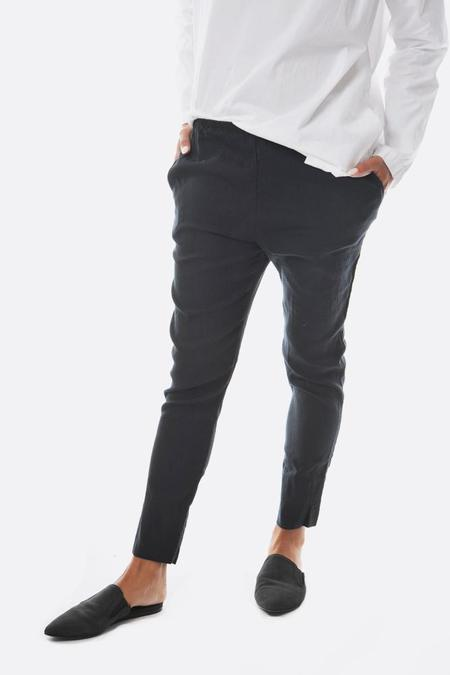 Pipsqueak Chapeau Stretch Linen Skinny Pants - Ink