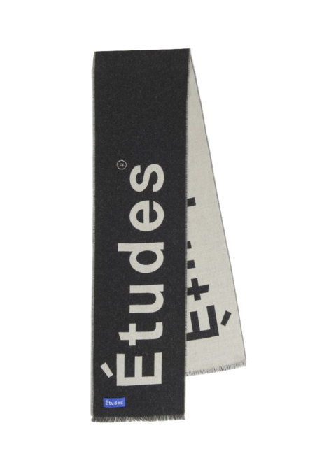 Etudes Supporter Scarf - Black