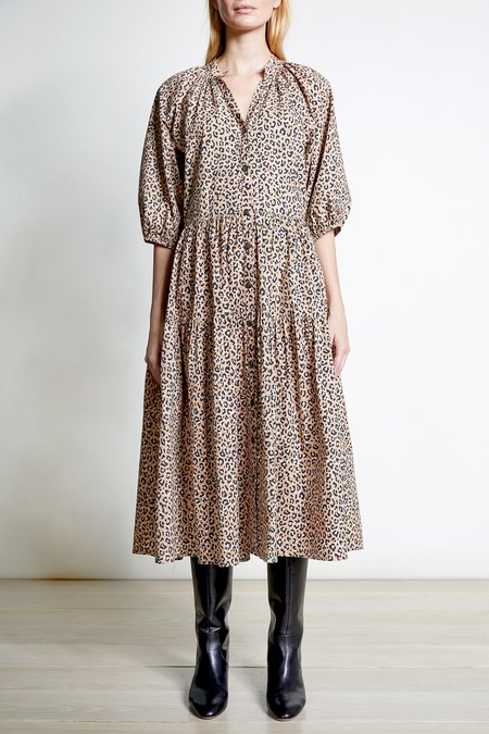 Apiece Apart Leopard Dress