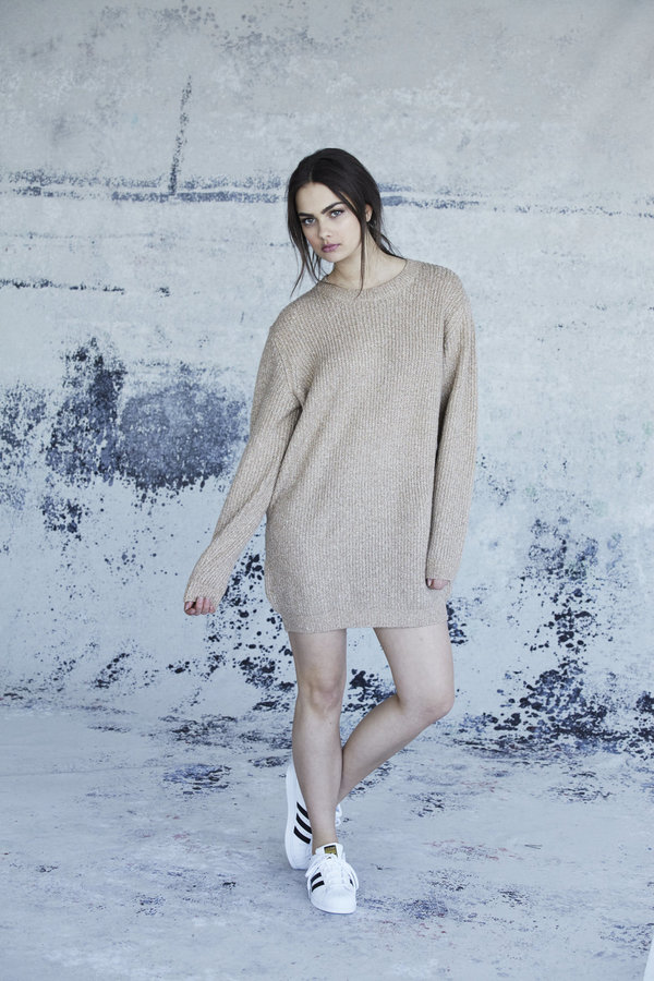 Callahan Heathered Mini Dress