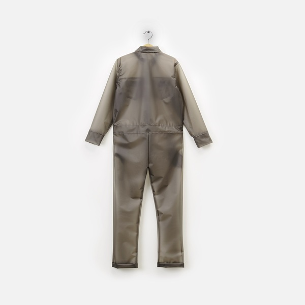 Andorine Grey Overalls