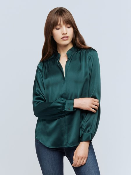 L'agence Bianca Blouse - jade green