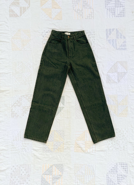Carleen Relaxed Jeans - Sage