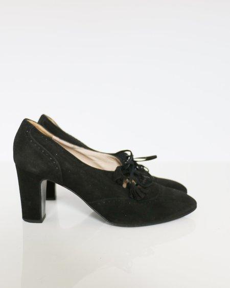 Vintage Chanel Pumps - Black