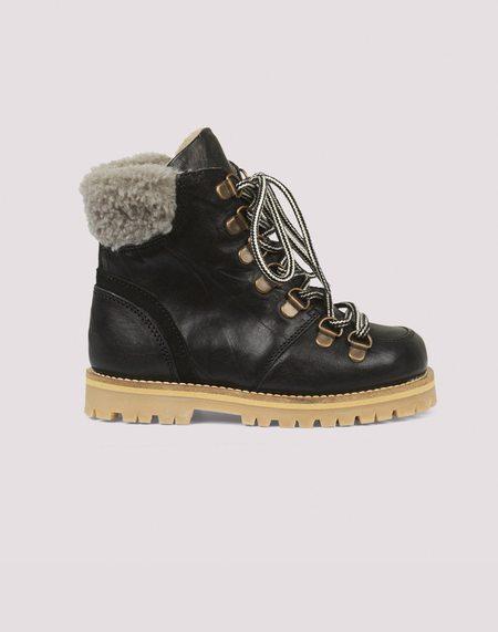 Kids Petit Nord Shearling Winter Boot - Black