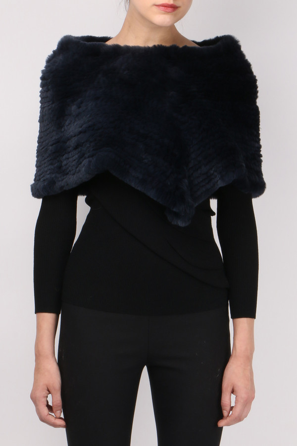 Jocelyn Fur Shoulder Scarf