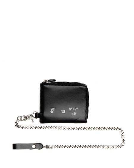 Off-White OW Logo Chain Wallet
