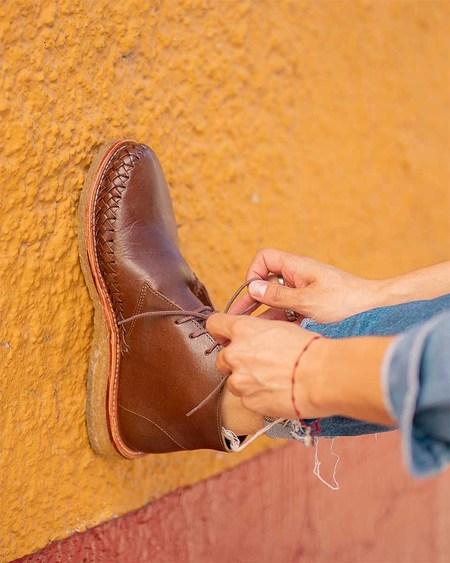 The CANO Shoe Gabriel Desert Boot - Chocolate