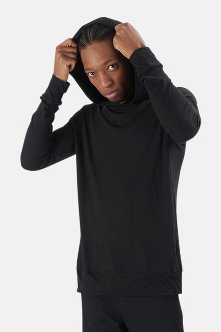 Blue&Cream 66 Pullover Hoodie Sweater - Black