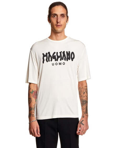 Magliano T shirt with Print - White