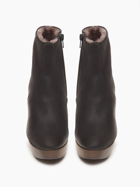 Coclico Tau Shiearling Lined Clog Boot