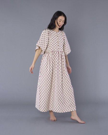 Ilana Kohn Eleanor Dress - Dobby Dot